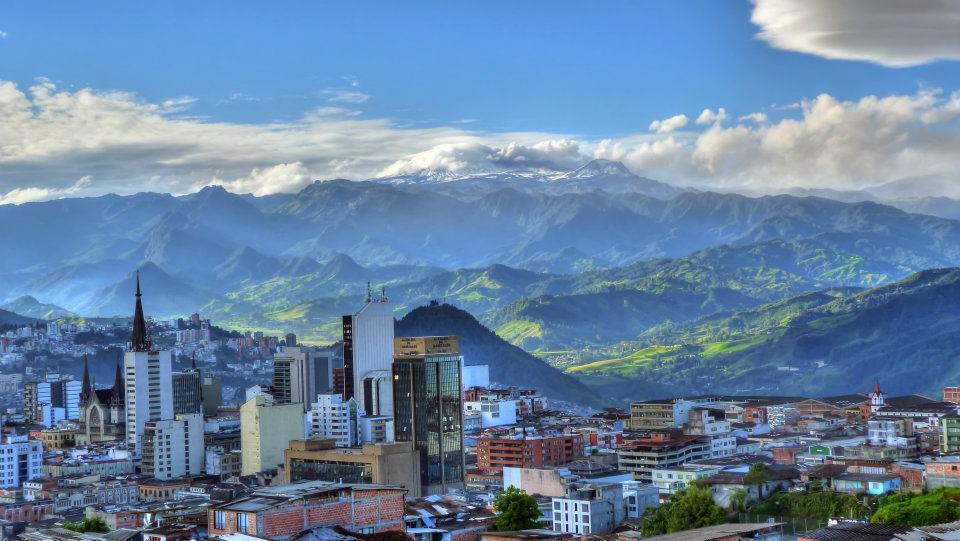 Skyline of Manizales