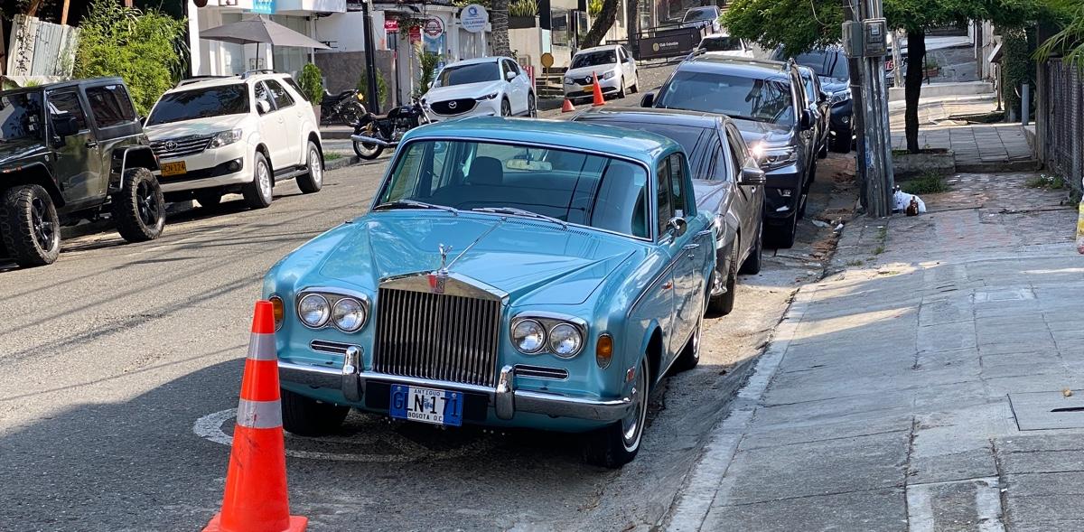 Rolls Royce in Cali, Colombia